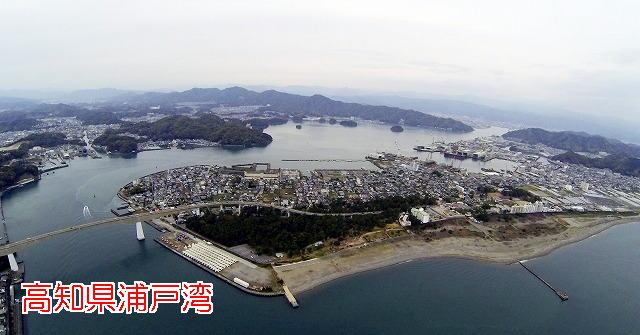 空撮MF0019浦戸湾